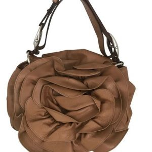 YSL petals leather purse. Made in Italy. 50% off!